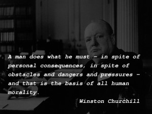 must…Winston Churchill motivational inspirational love life quotes ...