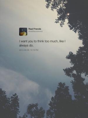 real friends tweet