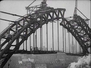 Tyne Bridge Black And White