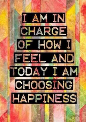 We all have a choice, everyday. A challenge to live 100 days happy!