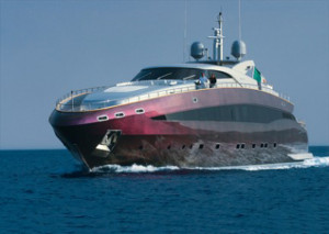 Roberto Cavalli's Ridiculously Colorful Yacht Just Docked At Cannes