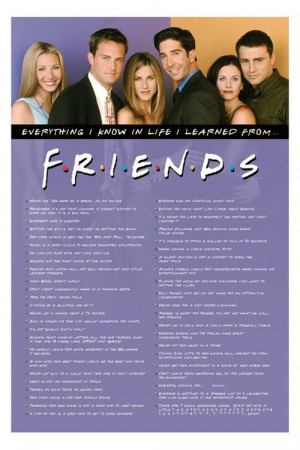 Friends tv Show Pictures With Quotes Friends tv Show Quotes With