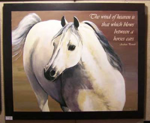 Horse Poems And Quotes Arabian horse