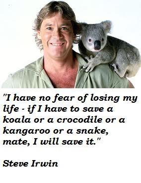 Steve irwin famous quotes 1