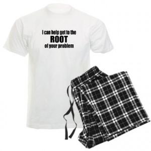 Cyid Gifts Mens Funny Root Canal Men Light Pajamas