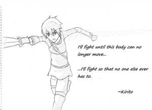 Kirito (sword art online) by Dry-Luck