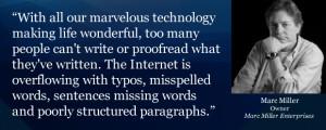 Misspelled Words in Quotes Misspelled Words