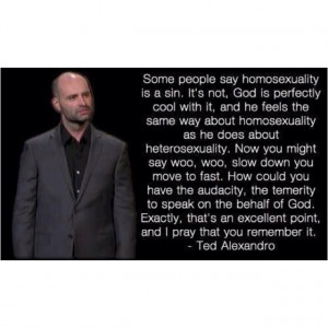 Ted Alexandro.