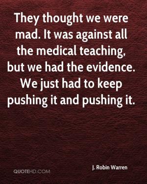 Robin Warren Quotes