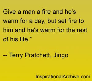 Pratchett quoteTerry O'Neil, Terry Pratchett Quotes, Sir Terry, Death ...