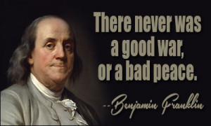 Benjamin Franklin was a bit soft around the middle in his later years ...