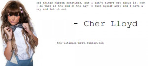 Most popular tags for this image include: cher lloyd