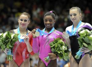 Esercito Vanessa Ferrari argento ai mondiali di ginnastica artistica