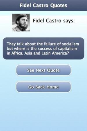Fidel Castro Quotes Comment: