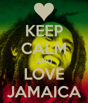 Keep Calm And Love Jamaica