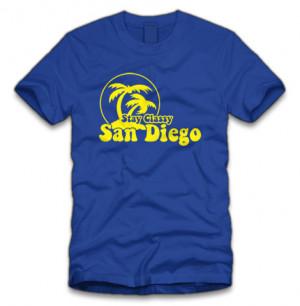 stay classy san diego t-shirt