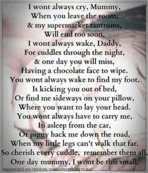 Cute growing up poem