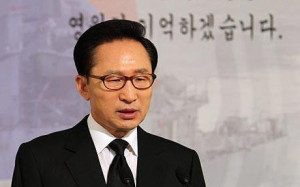 South Korean President Lee Myung Bak Has Vowed Make North Korea