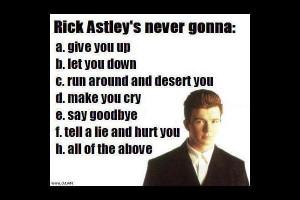 Rick Astley Meme