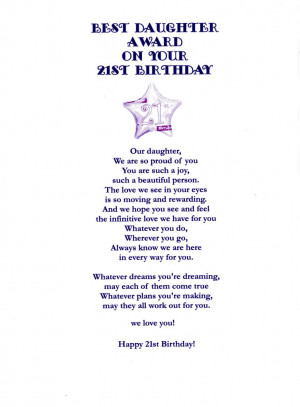 great 21st birthday quotes
