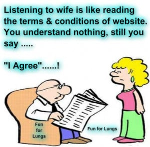 ... Funny Pictures, Laugh it out ,Marriage Humor, Jokes on Husband Wife