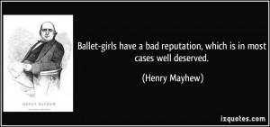 Bad Reputation Quotes