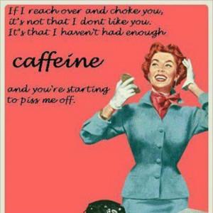 Caffeine Poster.