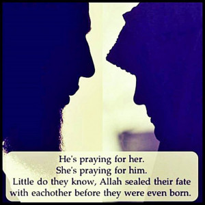 ... For Her And She Is Praying For Him What A Wonderful Relationship
