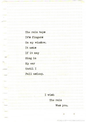 love winter quote sad quotes Typography writing rain fall poetry poem ...