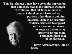 David Attenborough On Life
