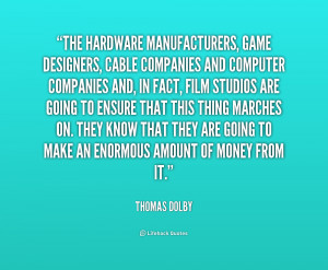 Thomas Dolby Quotes. QuotesGram