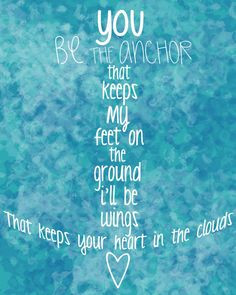 Here is a link to the super cute Anchor Quote that Ashlee made for me ...