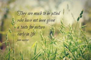 Jane Austen Nature Quote Print Literary Photography Woman Writer ...