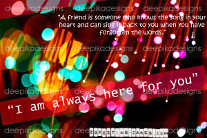 _greeting card i am always here for you _greeting card