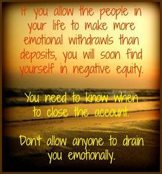 My problem is recognizing the manipulators who use my friendship to ...
