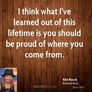 Quotes by Kid Rock