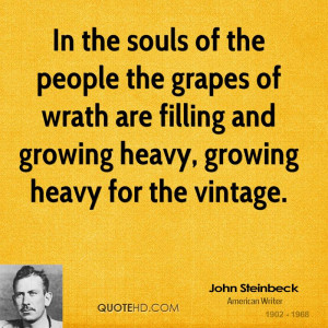 Essay: The Grapes of Wrath by John Steinbeck (1902 – 1968)