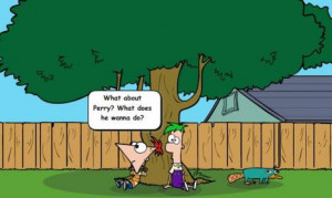 Funny Phineas And Ferb Pictures