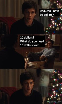 ... parents for money   #funny The Perks of Being a Wallflower quote More