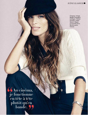 Thread: Maiwenn Le Besco Glamour France January 2013