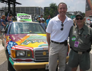 Martin O'Malley, Governor of Maryland, is a longtime fan of Dr. Bob ...