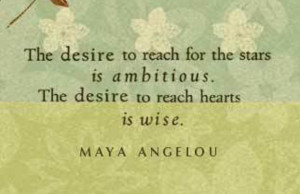 Maya Angelou Quote] A mini book of great quotes by good people on ...