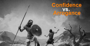 Confidence and arrogance are 2very different things; the line between ...