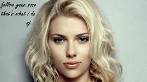 Scarlett Johansson Quotes - Wallpaper Pin it