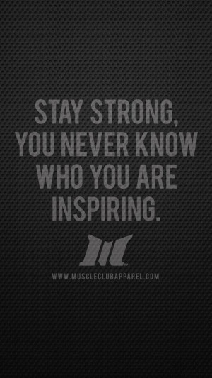 Stay Strong Inspire Fitness