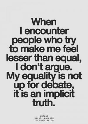 Feminist Elizabethan: Feminist Meme: An Implicit Truth