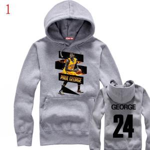 NBA Indiana Pacers Paul George classical logo hoodie sweatshirt