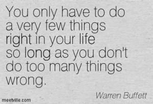 Quotes of Warren Buffett About management, economics, business ...