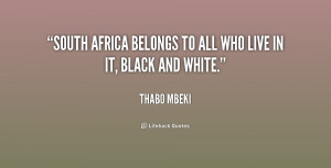 Quotes About South Africa