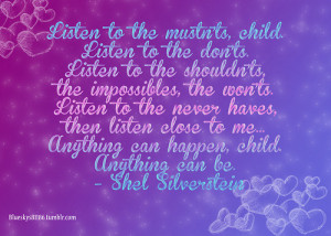 Inspirational Quotes For Children Growing Up